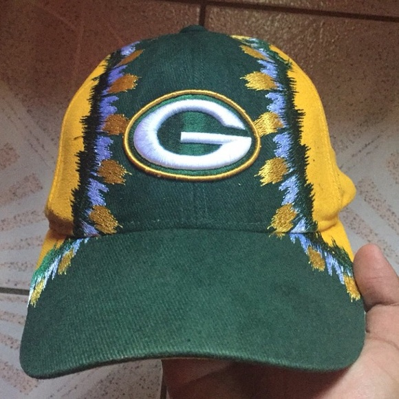 93db927d sweden vintage green bay packers hat 6981a 16674